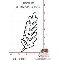 DIE SCRAPOSPHERE (petite) BRANCHE (découpe le tampon 16-0245)