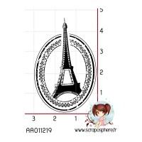 TAMPON CACHET TOUR EIFFEL PARIS