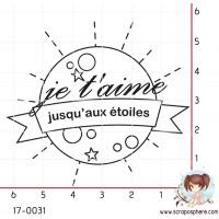 TAMPON JE T AIME JUSQU AUX ETOILES par Nad Mathieu