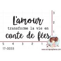 TAMPON L AMOUR TRANSFORME LA VIE EN CONTE DE FEES par Nad Mathieu