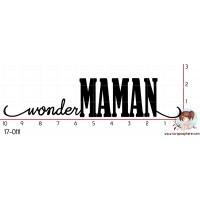 TAMPON WONDER MAMAN par Nad Mathieu