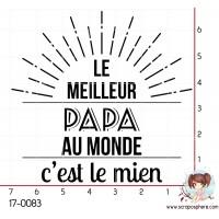 TAMPON LE MEILLEUR PAPA AU MONDE par Lily Fairy