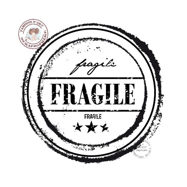 TAMPON CACHET FRAGILE