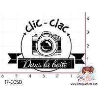 TAMPON CLIC CLAC DANS LA BOITE par Lily Fairy