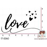 TAMPON LOVE (coeurs) par Lily Fairy