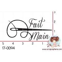 TAMPON FAIT MAIN (aiguille) par Lily Fairy