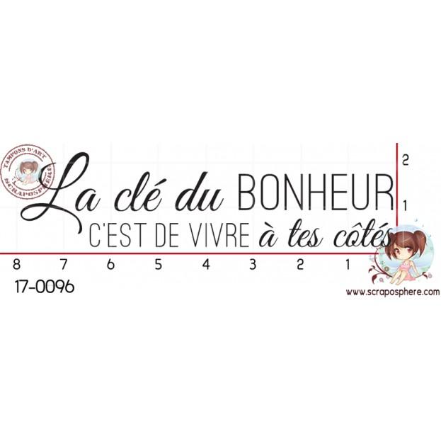 TAMPON LA CLE DU BONHEUR par Lily Fairy