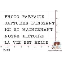 5 TAMPONS PHOTO PARFAITE par Lily Fairy