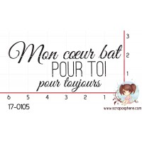 TAMPON MON COEUR BAT POUR TOI par Lily Fairy