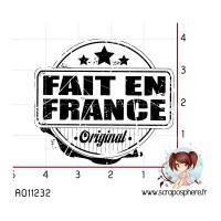 TAMPON CACHET ORIGINAL FAIT EN FRANCE
