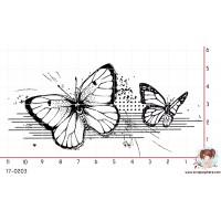 TAMPON FRISE GRUNGE (papillon) par Lily Fairy