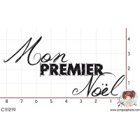 TAMPON MON PREMIER NOEL par Choupyne
