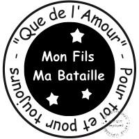 TAMPON QUE DE L AMOUR par 6alamaison