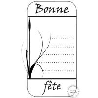 TAMPON ETIQUETTE BONNE FETE par Lymatry 2