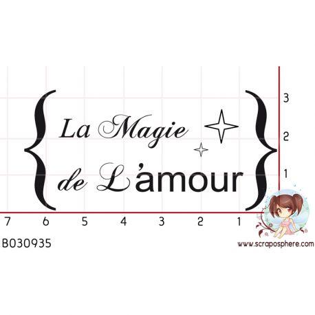 TAMPON LA MAGIE DE L AMOUR