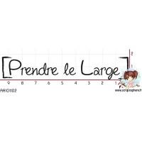 TAMPON PRENDRE LE LARGE par Cigalon