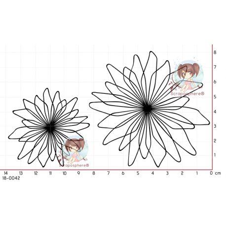 2 TAMPONS GRANDES FLEURS par Lily Fairy