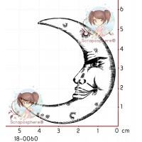 TAMPON LUNE PROFIL par Lily Fairy