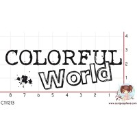 TAMPON COLORFUL WORLD par Laetitia67
