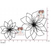2 TAMPONS FLEURS par Lily Fairy