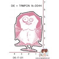 DIE SCRAPOSPHERE ZOZIO 1 + TAMPON 16-0044
