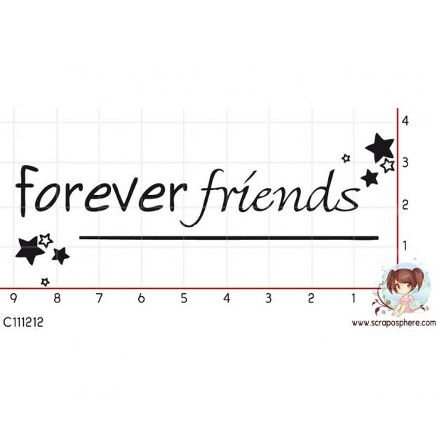 TAMPON FOREVER FRIENDS par Laetitia67