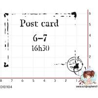 2 TAMPONS POST CARD par Choupyne