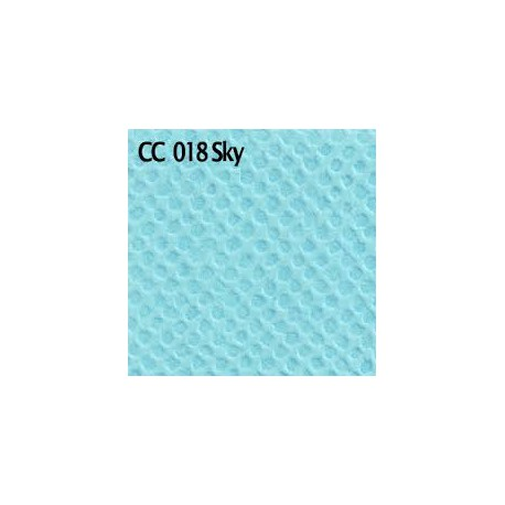 1 FEUILLE CARDSTOCK TEXTURE 30X30 SKY - FABSCRAPS