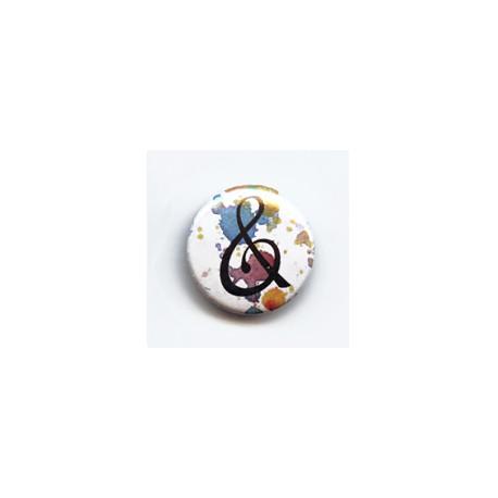 BADGE 3.8 cm - ESPERLUETTE par Lily Fairy