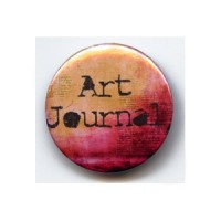 BADGE 3.8 cm - ART JOURNAL par Venitienne