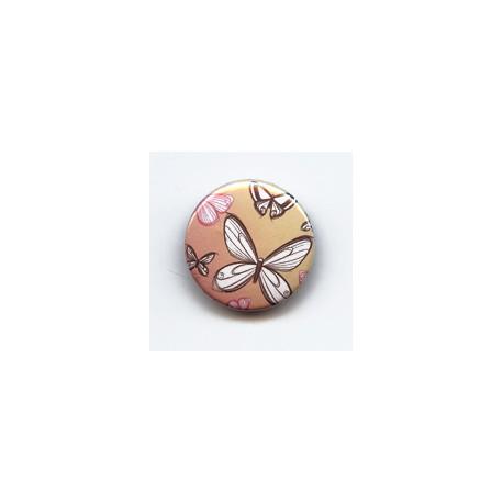 BADGE 2.5 cm - PAPILLONS par Lily Fairy