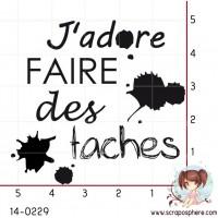 TAMPON J ADORE FAIRE DES TACHES par Crearel