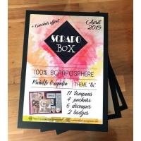 SCRAPO'BOX LUXE N°01 - Michelle Craquelin