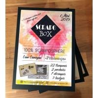 SCRAPO'BOX DE MAI - Peggy Paulin (Oum oumeyma)