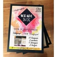 SCRAPO'BOX LUXE N°03 - Debbyscrap