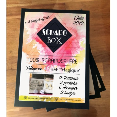 SCRAPO'BOX DE JUIN - Debbyscrap
