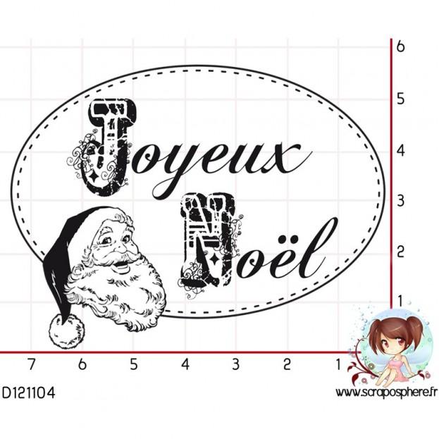TAMPON JOYEUX NOEL PAPA NOEL par Lily Fairy