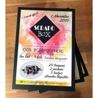 SCRAPO'BOX LUXE DE NOVEMBRE - Jesse Gad