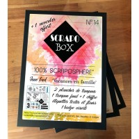 Pré commande - SCRAPO'BOX N°14 - Jesse Gad