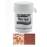 BRUSHO - COLOURCRAFT - DARK BROWN