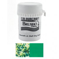 BRUSHO - COLOURCRAFT - EMERALD GREEN