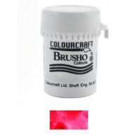 BRUSHO - COLOURCRAFT - BRILLIANT RED