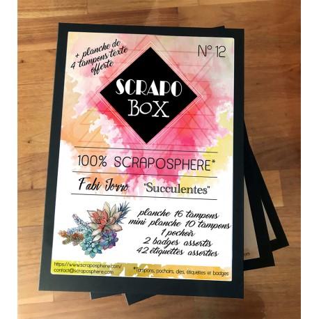 SCRAPO'BOX LUXE N°12 - Fabi Jorro