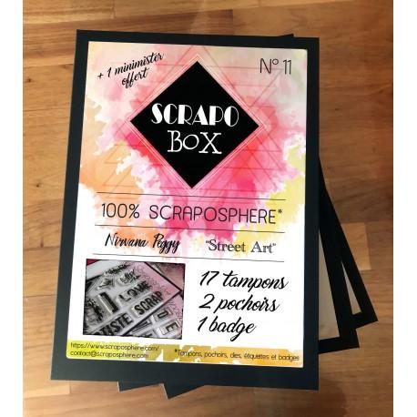 SCRAPO'BOX LIGHT N°11 - Nirvana Peggy