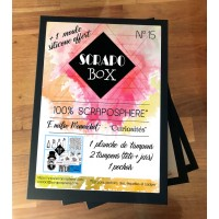 SCRAPO'BOX LUXE N°15 - Emilie Mennechet