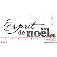 TAMPON ESPRIT DE NOEL par Choupyne