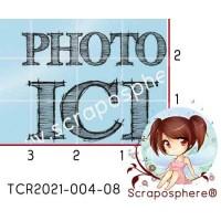 TAMPON TRANSPARENT PHOTO ICI