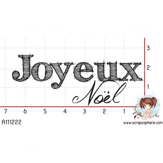 TAMPON JOYEUX NOEL par Choupyne