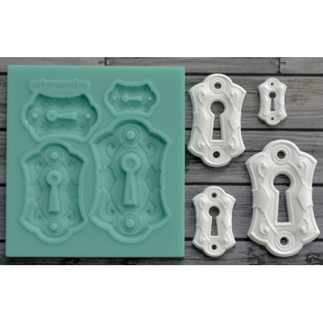 MOULE SILICONE SERRURES {attributes}