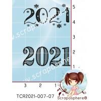 2 TAMPONS TRANSPARENTS 2021 par L'Atelier de Caroline {attributes}